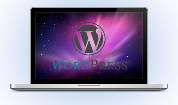 wordpress in locale