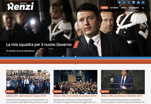 Sito Matteo Renzi