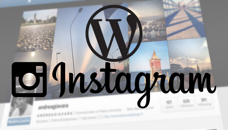 Come aggiungere Instagram a WordPress