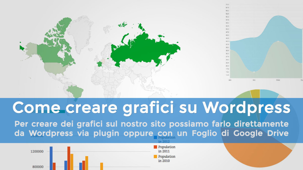 Come creare grafici con WordPress