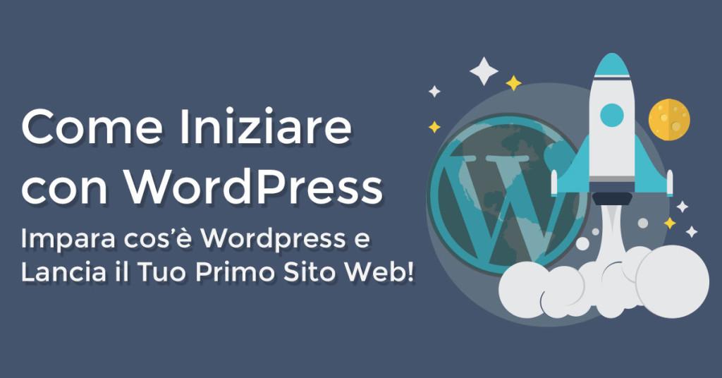 come iniziare con wordpress