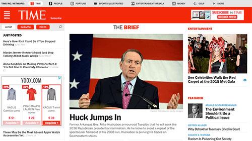Time settimanale americano