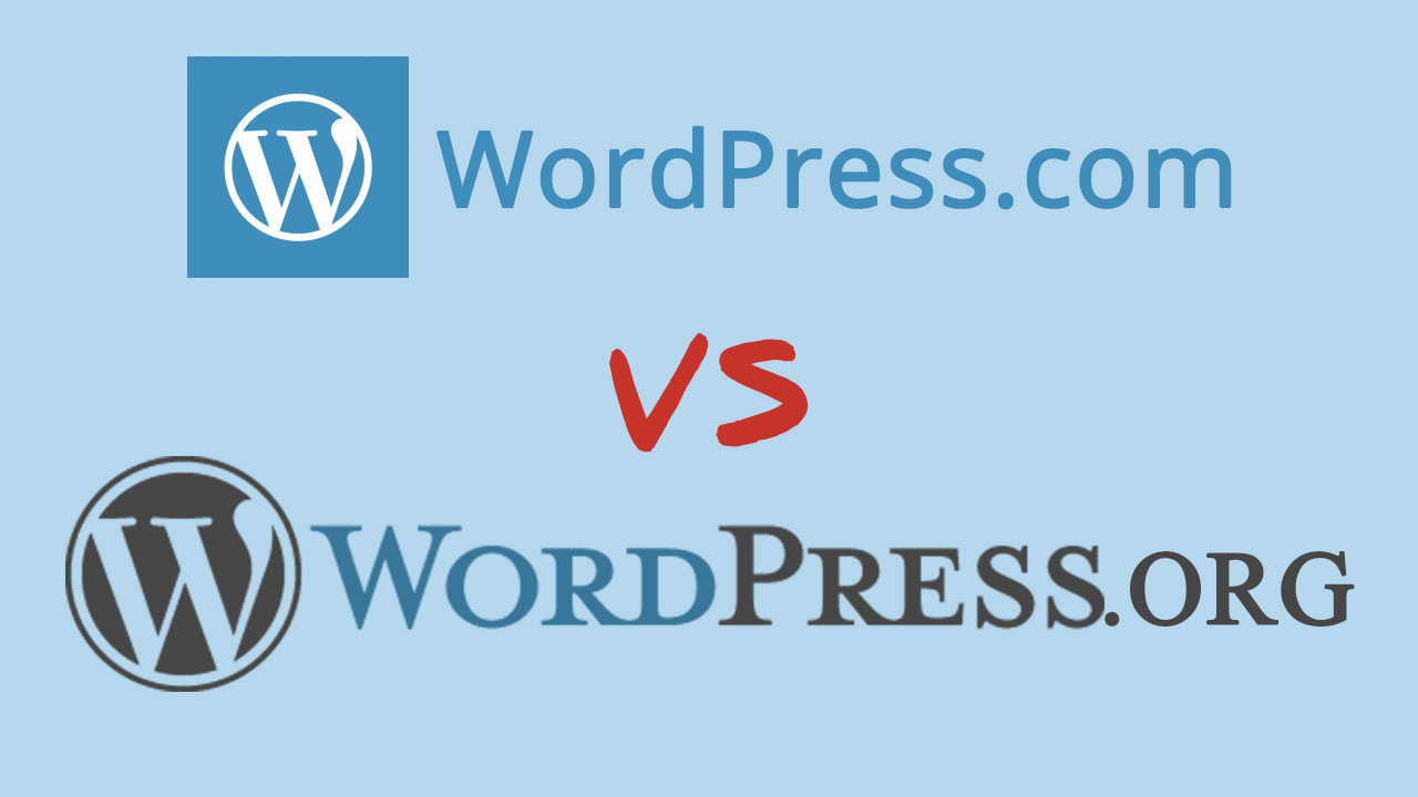 wp.com VS wp.org