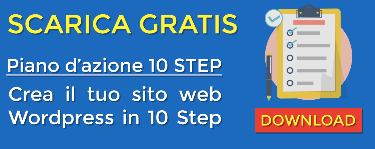 White paper gratuito: 10 Step per creare un sito con WordPress