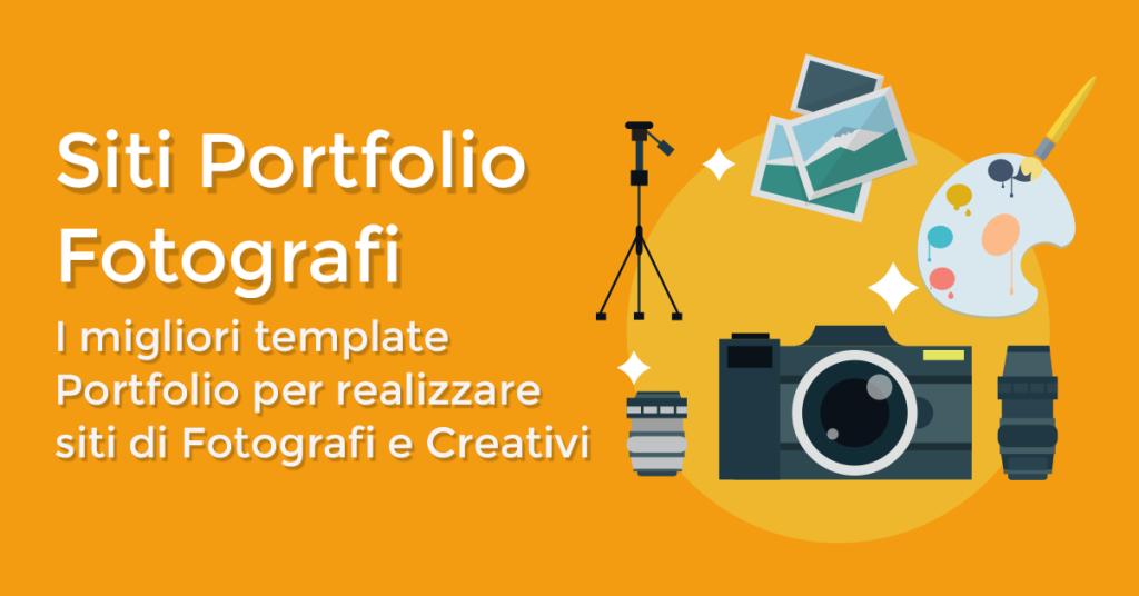 I migliori template Portfolio per realizzare siti di Fotografi e Creativi