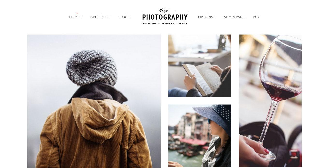 Tripod-Colored-Photography-Wordpress-Theme