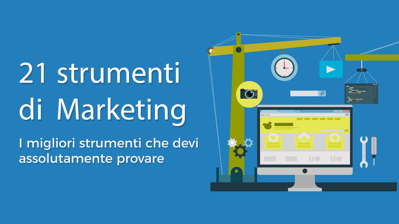 I migliori strumenti di web marketing