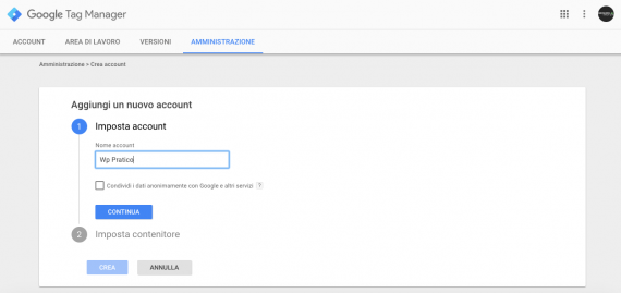 Google Tag Manager in WordPress