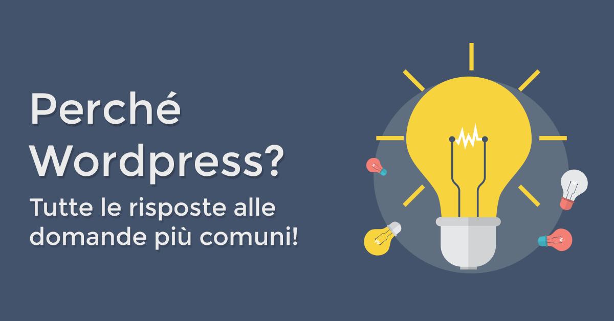 Perché WordPress
