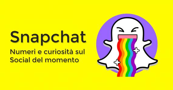 Snapchat: numeri e curiosità sul social del momento