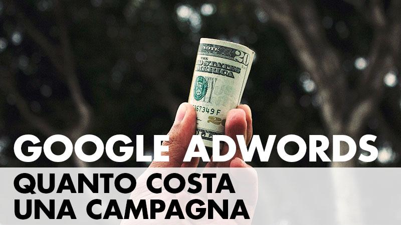 Quanto costa Google Adwords? Prendi la calcolatrice