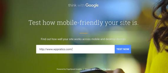 sito ottimizzato per mobile